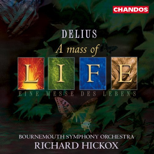 F. Delius Mass Of Life Requiem Rodgers Rigby Robson Evans & Hickox Bournemouth So