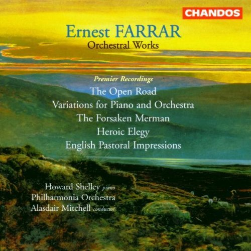 E. Farrar Orch Works Shelley*howard (pno) Mitchell Phil Orch