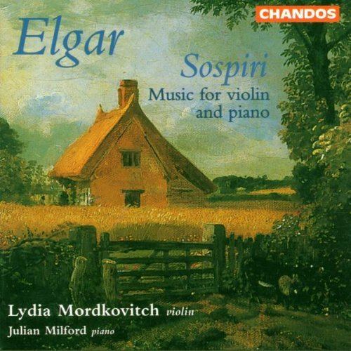 E. Elgar Music For Vn & Pno Mordkovitch (vn) Milford (pno