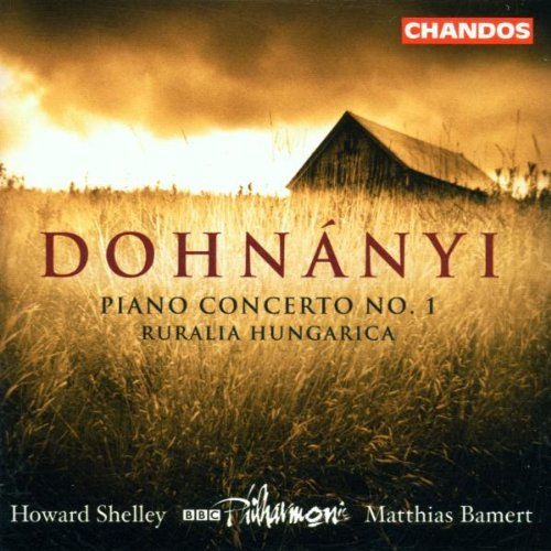 E. Von Dohnanyi Con Pno Orch (em) Ruralia Hung Shelley*howard (pno) Bamert Bbc Phil