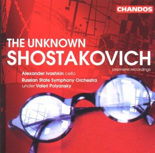 Dmitri Shostakovich Unknown Orchestrations Of Tisc Ivashkin*alexander (vc) Polyansky Russian State So