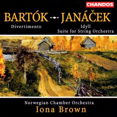 Bartok Janacek Divertimento For Strings Idyl Brown Norwegian Co