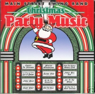 Main Street Swing Band Christmas Party Music