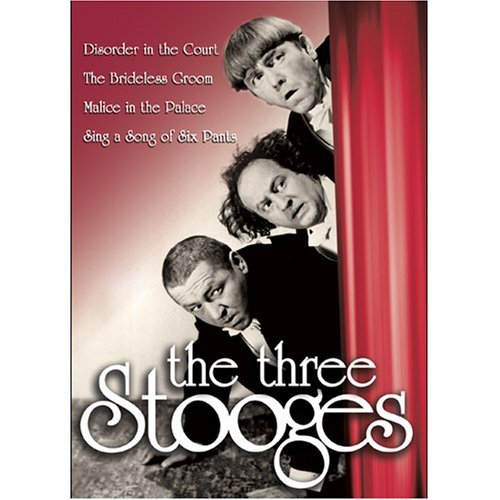 Three Stooges Disorder In The Court Brideles Bw Nr 4 On 1