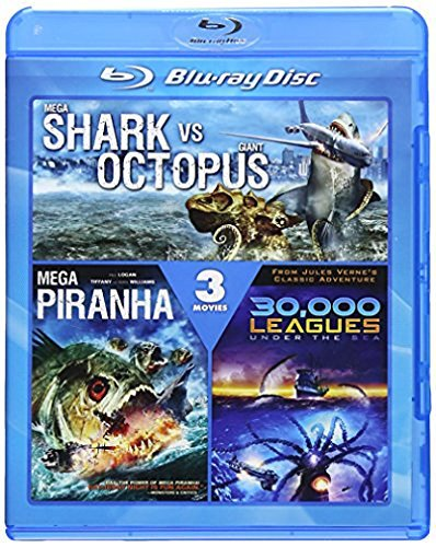 Mega Shark Vs. Giant Octopus 3 Mega Shark Vs. Giant Octopus 3 Blu Ray Ws Nr