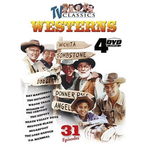 Tv Classic Westerns Tv Classic Westerns Clr Nr 4 DVD