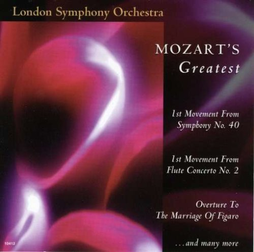 Wolfgang Amadeus Mozart Mozart's Greatest London So