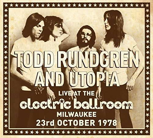 Todd & Utopia Rundgren Live At The Electric Ballroom Import Gbr 2 CD