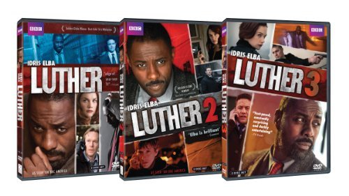 Luther Complete Series DVD
