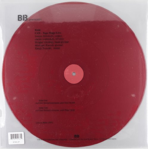 Can Tago Mago Live Dark Red Translucent Vinyl Limited To 500