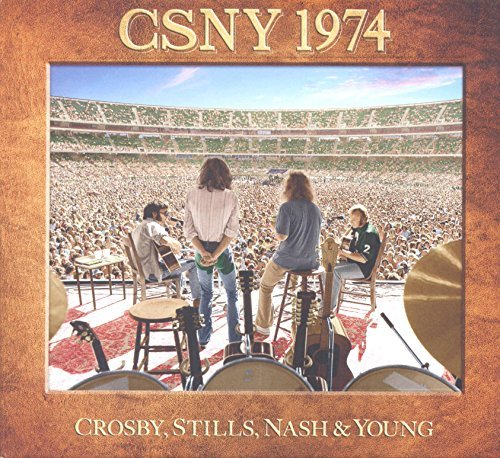 Crosby Stills Nash & Young Live 1974 (3cd 1dvd)