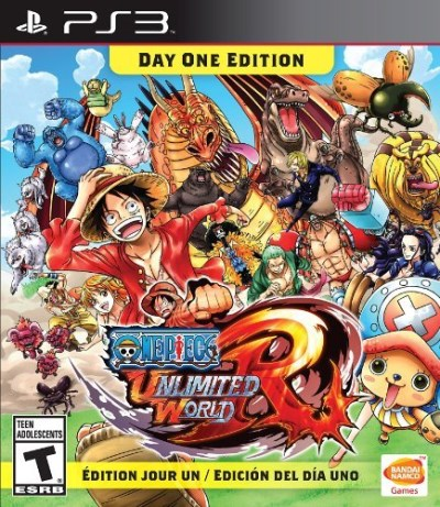 Ps3 One Piece Unlimited World Red Day 1 Edition Pla