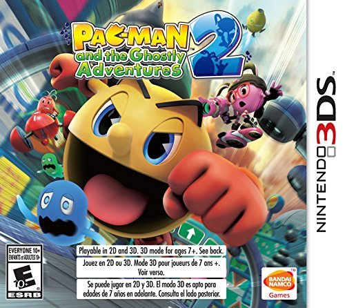 Nintendo 3ds Pacman & Ghostly Adventures 2 Pacman & Ghostly Adventures 2