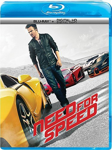 Need For Speed Paul Cooper Poots Blu Ray Pg13