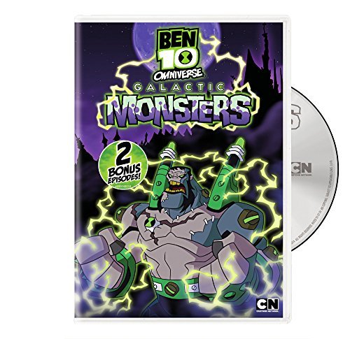 Ben 10 Omniverse Galactic Monsters DVD