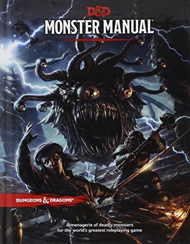 Wizards Rpg Team Monster Manual 0005 Edition;
