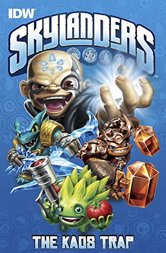Ron Marz Skylanders The Kaos Trap
