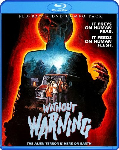 Without Warning Collector's Edition Blu Ray DVD R