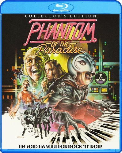 Phantom Of The Paradise Collector's Edition Blu Ray DVD Pg