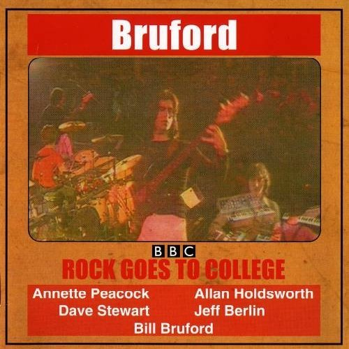 Bill Bruford Rock Goes To College
