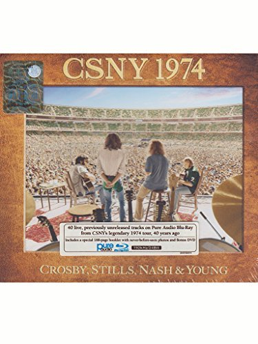 Crosby Stills Nash & Young Csny 1974 Blu Ray Audio DVD