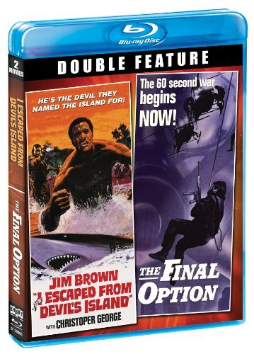 I Escaped From Devil's Island Final Option Double Feature Blu Ray R
