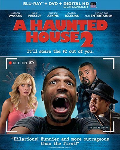 Haunted House 2 Wayans Pressly Blu Ray DVD Dc R