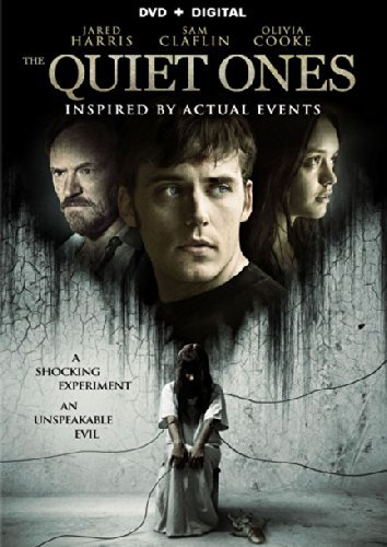 Quiet Ones Harris Claflin Cooke DVD Pg13