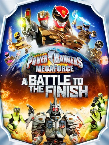 Power Rangers Megaforce A Battle To The Finish DVD