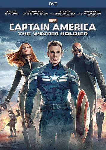 Captain America The Winter Soldier Evans Jackson Johansson DVD Pg13