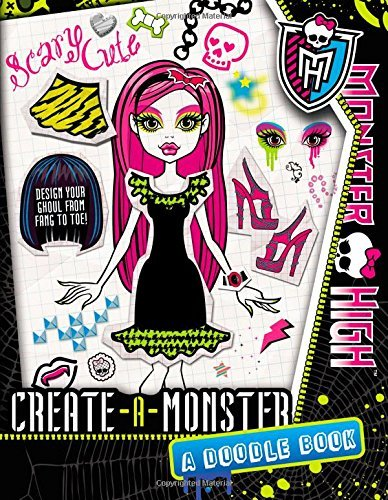Kirsten Mayer Monster High Create A Monster A Doodle Book