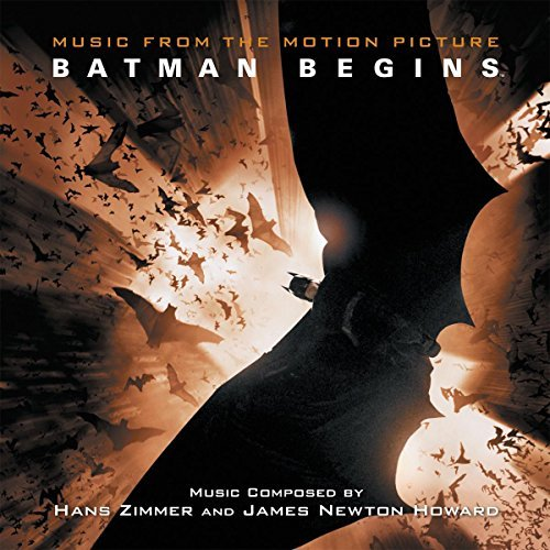 Batman Begins Soundtrack (orange Vinyl) 2 Lp Limited To 1000 Copies Worldwide