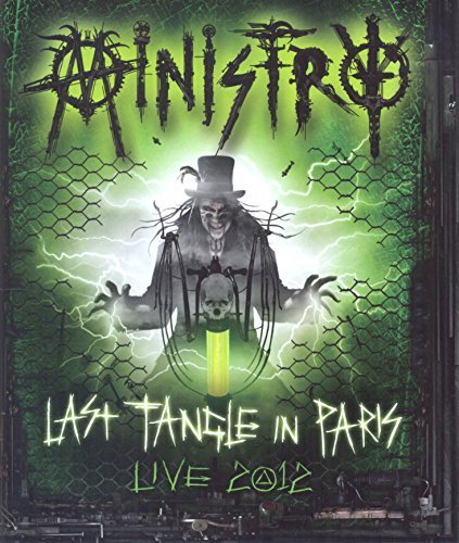 Ministry Last Tangle In Paris Live 2012 2 CD Incl. Blu Ray