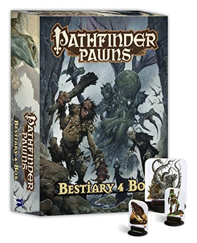 Paizo Staff Pathfinder Pawns Bestiary 4 Box