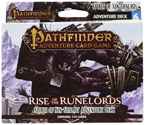 Mike Selinker Pathfinder Adventure Card Game Rise Of The Runelords Deck 6 Spires Of Xin Shal