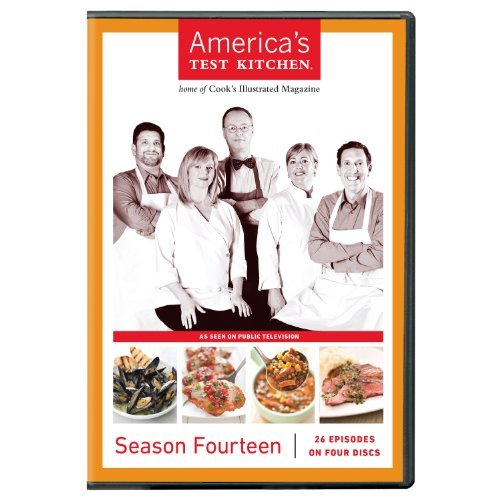 America's Test Kitchen Season 14 DVD