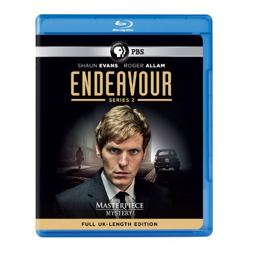 Endeavour Series 2 Blu Ray