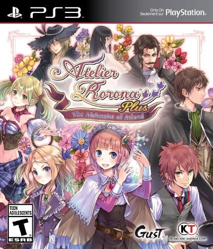 Ps3 Atelier Rorona Plus The Alchemist Of Arland