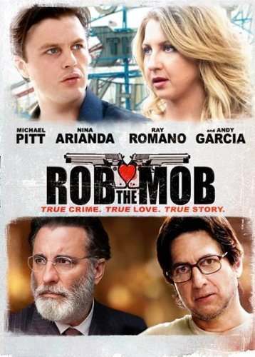 Rob The Mob Pitt Romano Garcia DVD R
