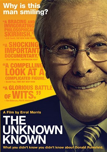 Unknown Known Donald Rumsfeld DVD Pg13