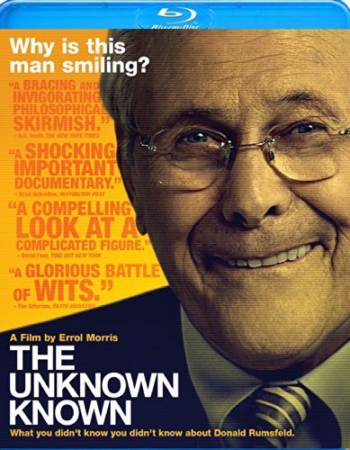 Unknown Known Donald Rumsfeld Blu Ray Pg 13