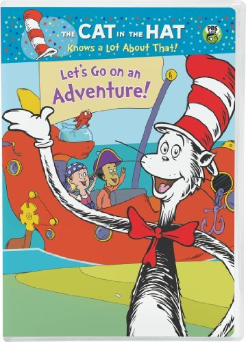 Cat In The Hat Let's Go An Adventure DVD