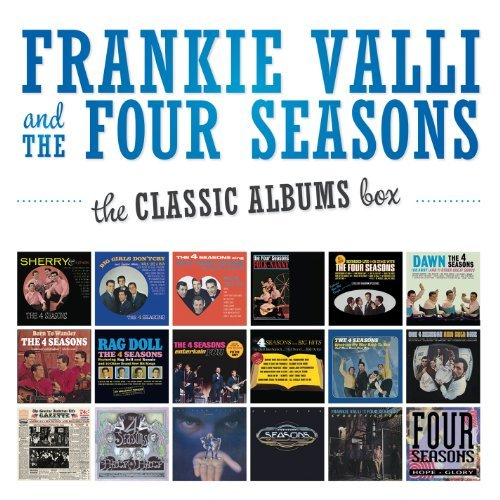 Frankie & Four Seasons Valli Classic Albums Box