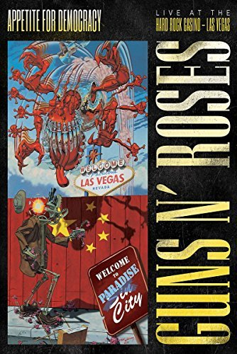 Guns N' Roses Appetite For Democracy Live At The Hard Rock Casino Explicit DVD