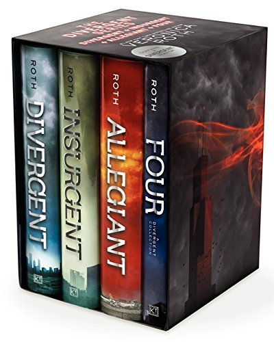 Veronica Roth The Divergent Series Divergent Insurgent Allegiant Four