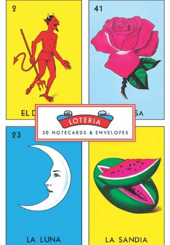 Notecard Set Loteria 20 Notecards With Envelopes