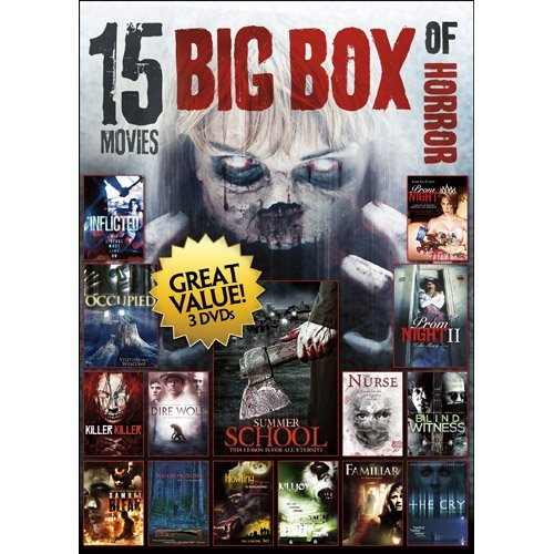 15 Movies Big Box Of Horror 2 15 Movies Big Box Of Horror 2