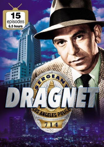Dragnet 15 Episodes DVD