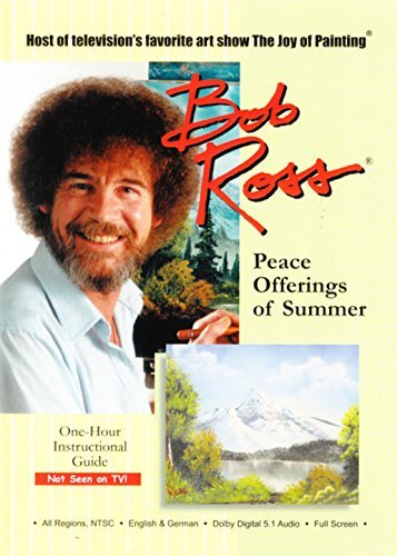 Bob Ross The Joy Of Painting Peace Offerings Of Summer DVD