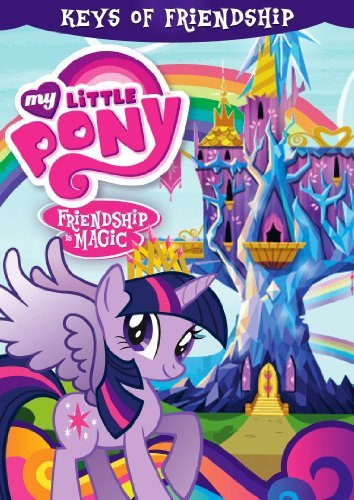 My Little Pony Friendship Is Magic Keys Of Friendship DVD